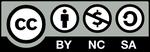 CCライセンス 表示 + 非営利 + 継承